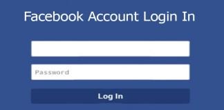 Facebook Account Login In