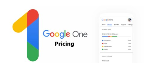 Google One Pricing