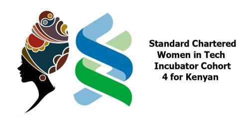 Standard Chartered Women in Tech Incubator Cohort 4 for Kenyan