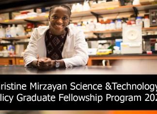 Christine Mirzayan Science &Technology Policy Graduate Fellowship Program 2021
