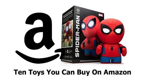 Ten Toys You Can Buy On Amazon
