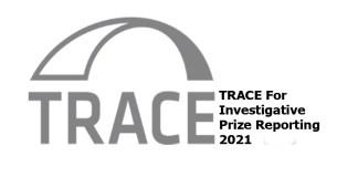 TRACE For Investigative Prize Reporting 2021