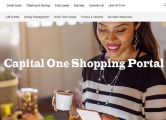 Capital One Shopping Portal