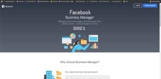 Facebook Business Manager 2021