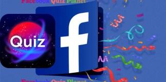 Facebook Quiz Planet