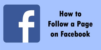 How to Follow a Page on Facebook