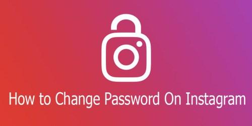 How to Change Password On Instagram