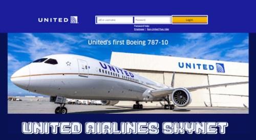 United Airlines Skynet
