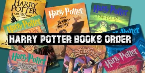 Harry Potter Books Order