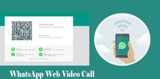 WhatsApp Web Video Call