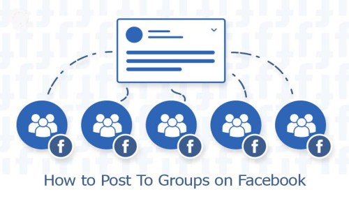 How to Post To Groups on Facebook