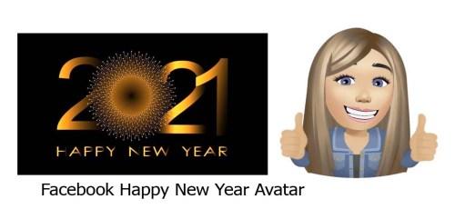 Facebook Happy New Year Avatar