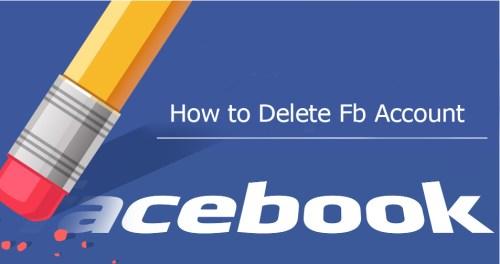 How to Delete Fb Account