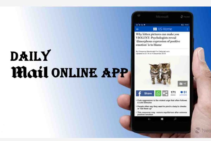 Daily mail online App