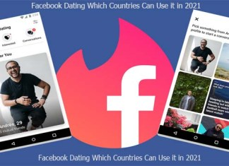 Facebook Dating Which Countries Can Use it in 2021