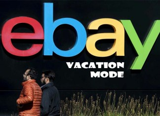 eBay Vacation Mode