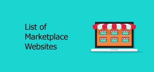 List of Marketplace Websites