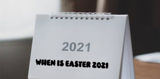 When is Easter 2021