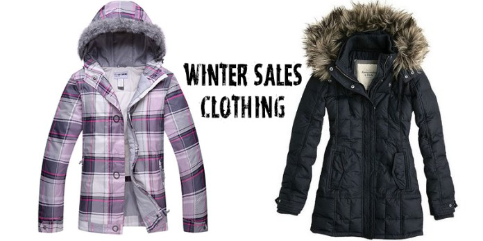 Winter Sales Clothing