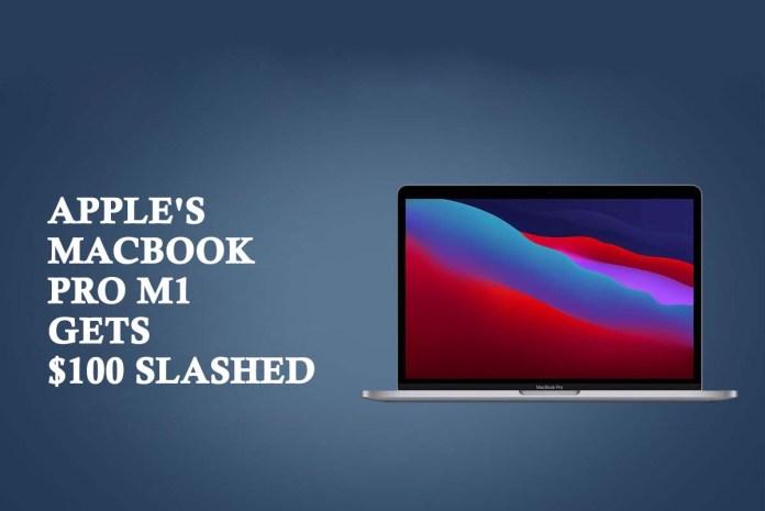 Apple's MacBook Pro M1 gets $100 Slashed