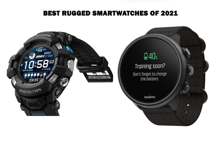 Best Rugged Smartwatches of 2021