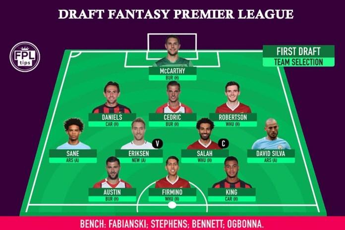 Draft Fantasy Premier league