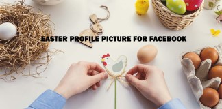 Easter Profile picture for Facebook