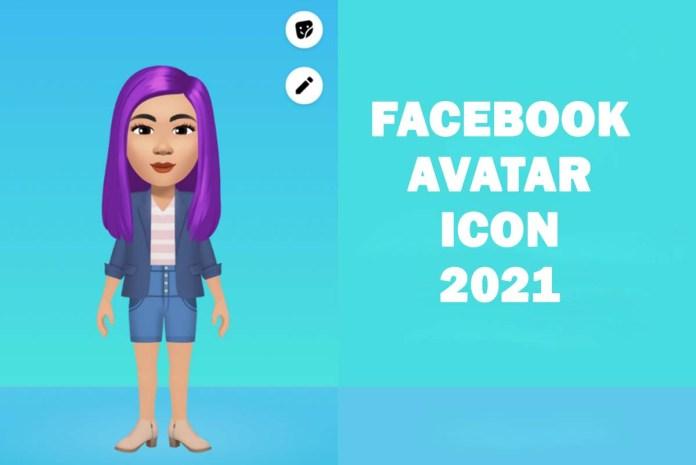 Facebook Avatar Icon 2021