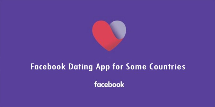 Facebook Dating App for Some Countries