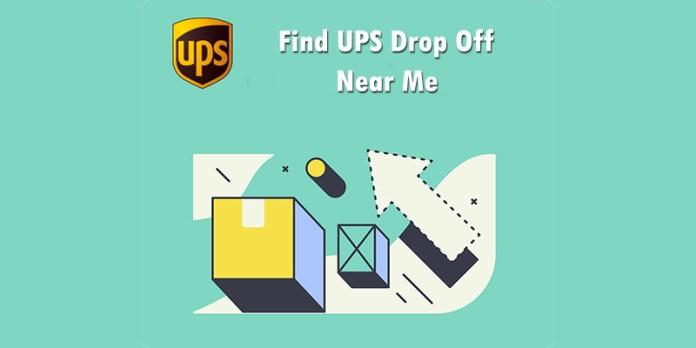 Find UPS Drop Off Near Me
