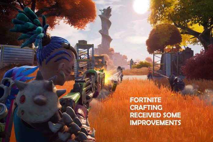 Fortnite Crafting Received Some Improvements