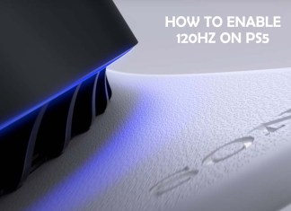 How To Enable 120Hz on PS5