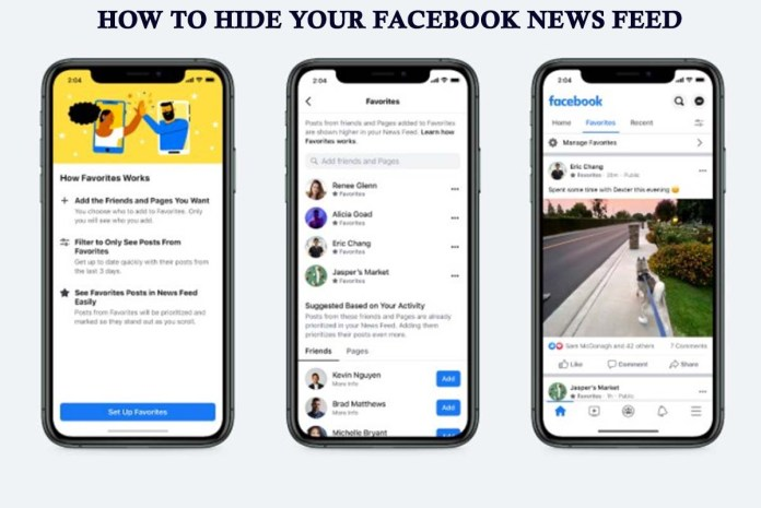 How To Hide Your Facebook News Feed