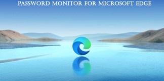 Password Monitor for Microsoft Edge