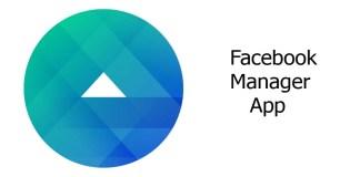 Facebook Manager App