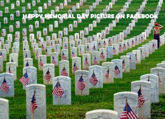 Happy Memorial Day Picture on Facebook