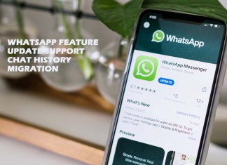 WhatsApp Feature Update Support Chat History Migration
