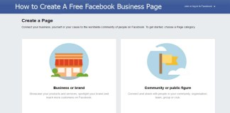 How to Create A Free Facebook Business Page