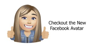 Checkout the New Facebook Avatar
