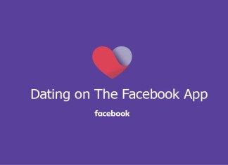 Dating on The Facebook App