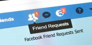 Facebook Friend Requests Sent