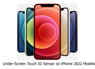 Under-Screen Touch ID Sensor on iPhone 2022 Models