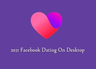 2021 Facebook Dating On Desktop