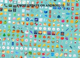 Emoji Update on Android 12