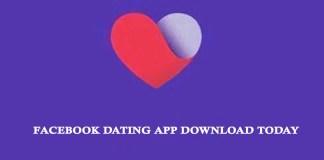 Facebook Dating App Download Today