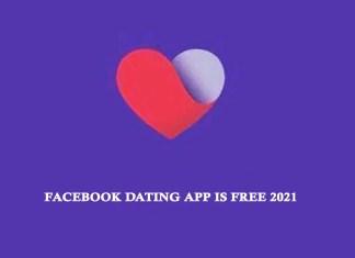Facebook Dating App Free 2021