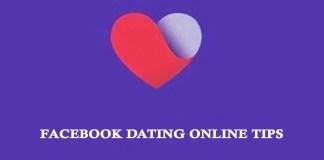Facebook Dating Online Tips