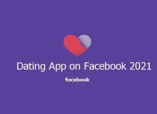 Dating App on Facebook 2021