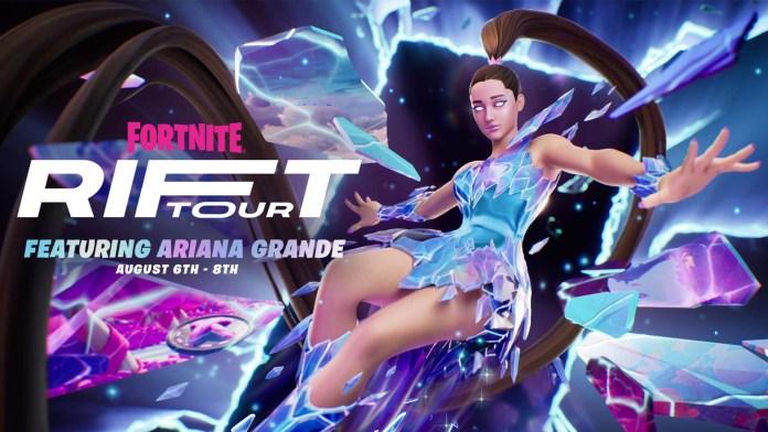 Fortnite Rift Tour with Ariana Grande