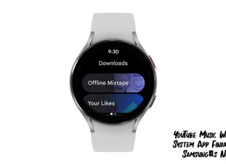 YouTube Music Wear Operating System App Finally Released on Samsung's New Watches